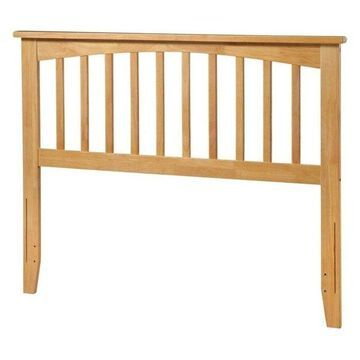 Atlantic Furniture Mission Queen Spindle Headboard, Natural