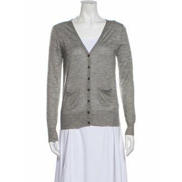 V-Neck Sweater Grey