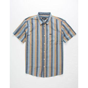 Charter Vertical Print Mens Shirt