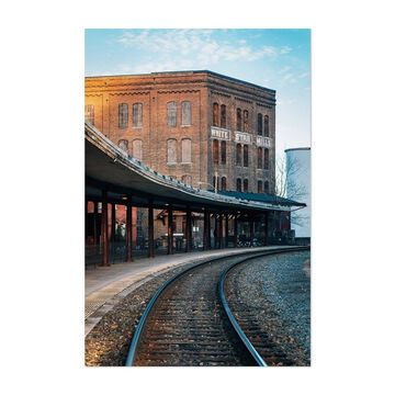 Noir Gallery Staunton Virginia Mill Unframed Art Print/Poster