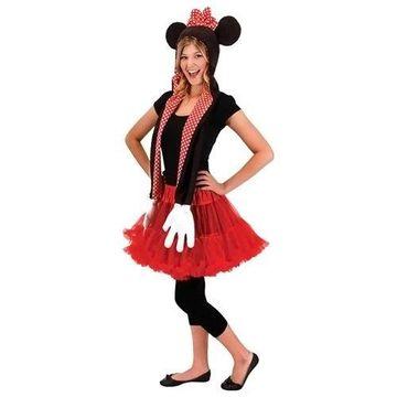 Morris Costumes Halloween Party Minnie Hoodie Scarf