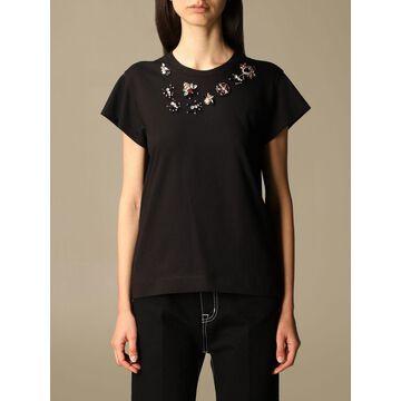 Vivetta T-shirt with jewel applications