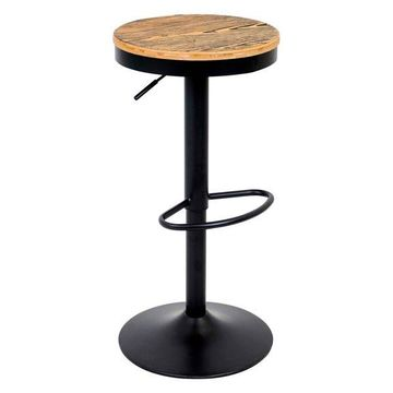 Lumisource Dakota Barstool, Black