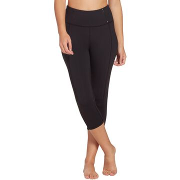 CALIA by Carrie Underwood Women's Essential High Rise Capris (Regular and Plus)