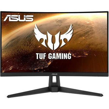 ASUS TUF Gaming VG27WQ1B 27 Inch WQHD Curved Gaming Monitor PC Accessories ASUS GameStop