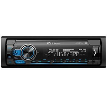 Pioneer Single DIN Car Receiver With Bluetooth