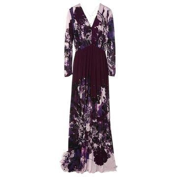 Roberto Cavalli Multicolour Synthetic Dresses