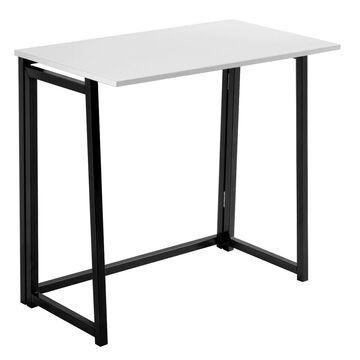 Goplus 18-in White Modern/Contemporary Computer Desk | OGY02593