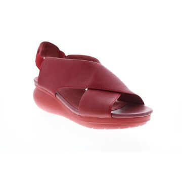 Camper Balloon Red Womens Slingback Sandals