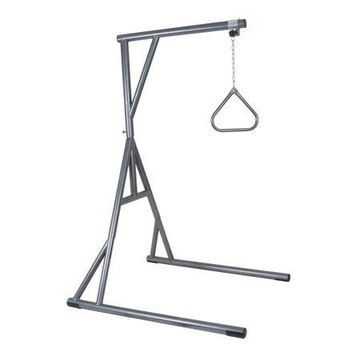 Drive Medical Bariatric Heavy Duty Trapeze Bar, Silver Vein