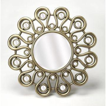 Butler Svetlana Silver Wall Mirror
