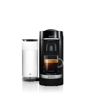 Black VertuoPlus Deluxe Coffee and Espresso Machine by De'Longhi