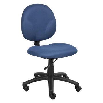 Boss B9090-BE Boss Diamond Task Chair, Blue