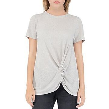 B Collection by Bobeau Rachelle Twist-Front Tee