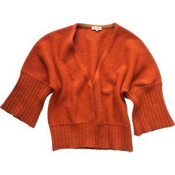 Dries Van Noten Orange Wool Knitwear