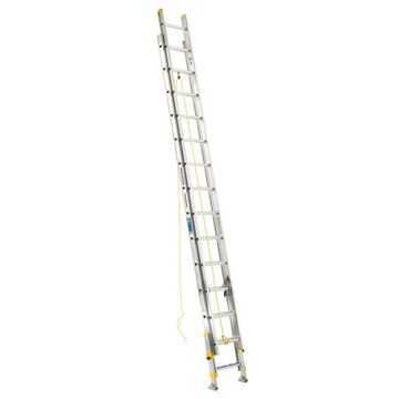 Werner D1800 Aluminum 28-ft Type 1 - 250 lbs. Capacity Extension Ladder