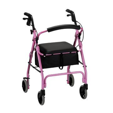 Nova GetGO Classic Rolling Walker Pink