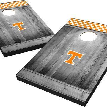 Wild Sports Tennessee Volunteers NCAA Grey Wood Tailgate Toss