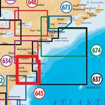 Navionics Platinum Plus MSD/645PP North Carolina Marine Chart f/ Lowrance Models