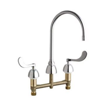 Chicago Faucets 201-AGN8AE35-317AB Commercial Grade High Arch - Chrome