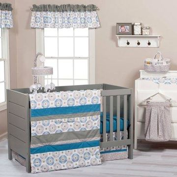Trend Lab Monaco 3-Piece Crib Bedding Set