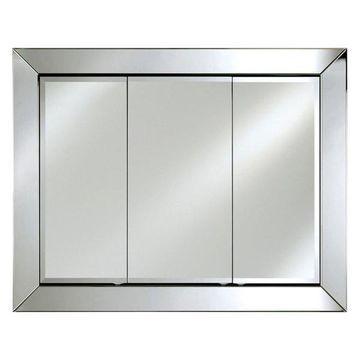 Afina Radiance Contemporary Triple Door Cabinet, Large
