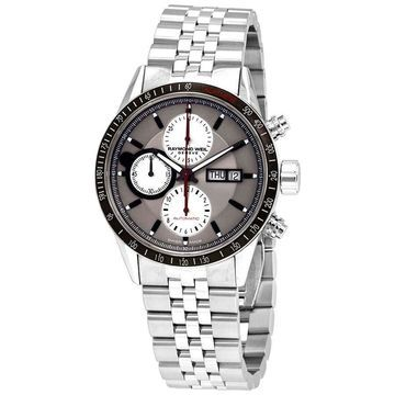 Raymond Weil Freelancer Chronograph Automatic Silver Dial Men's Watch 7731-ST1-65421