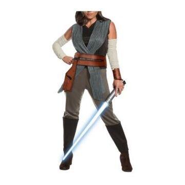 BuySeason Women's Star Wars Episode Viii - The Last Jedi Deluxe Rey Costume