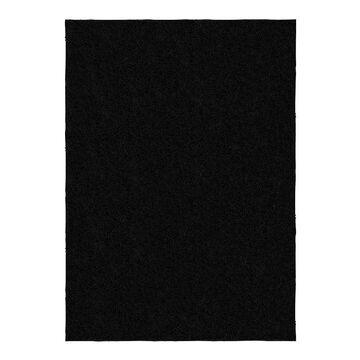 Garland Rug Skyline Shag Area Rug, Black, 6X9 Ft