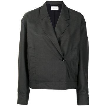 oversized double-breasted jacket