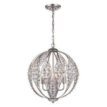 Warehouse of Tiffany Pendant, Antique Silver