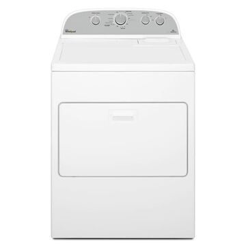 Whirlpool 7-cu ft Vented Gas Dryer with AutoDry - White   WGD49STBW