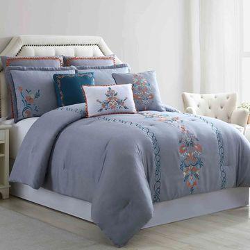 Amrapur Overseas Sasha 8-Piece Embellished Comforter Set