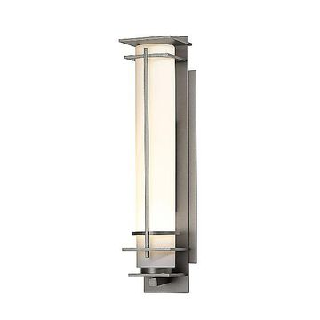 After Hours Outdoor Wall Light by Hubbardton Forge - Color: Beige - Finish: Iron - (307858-1015)