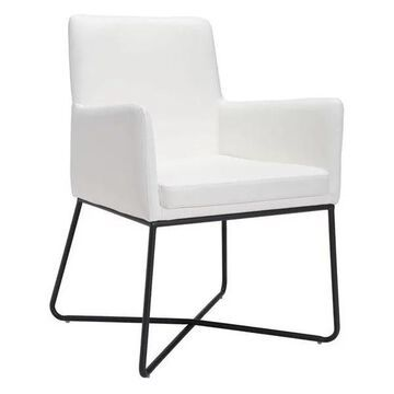 Zuo Modern Axel Dining Chair, White