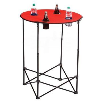 Scrimmage Tailgate Table, Red
