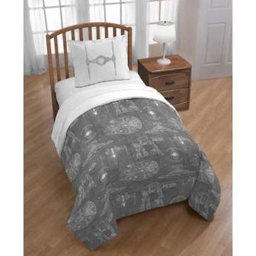 Star Wars Reversible 3-Piece Twin/Full Comforter Set Bedding