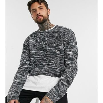 Reclaimed Vintage cropped knit-Gray