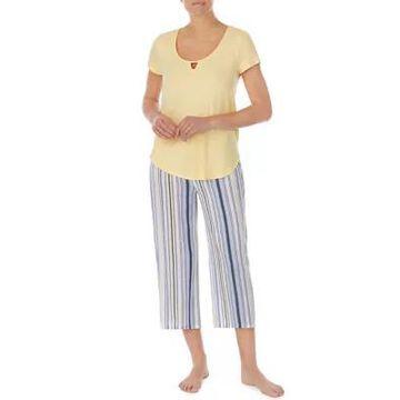 Ellen Tracy Women's Short Sleeve Lounge Set - -
