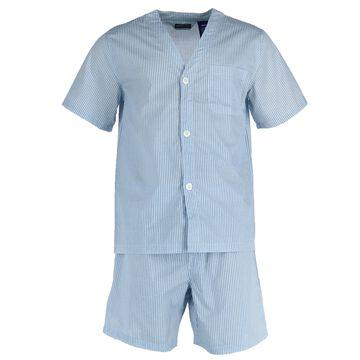 Fruit of the Loom Men's Big and Tall Short Sleeve Short Leg Pajamas