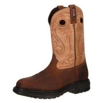 Rocky Western Boots Mens Original Ride Waterproof Brown RKW0099