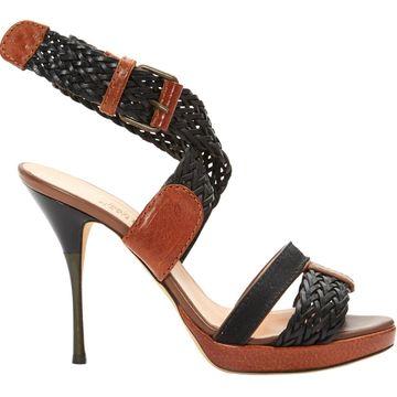 Jean Paul Gaultier Brown Leather Sandals