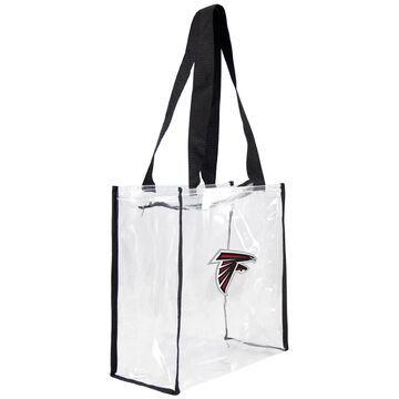 Atlanta Falcons Little Earth Clear Square Stadium Tote Bag