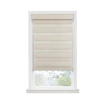 Achim Celestial 48-in Tan Room Darkening Cordless Roller Shade Polyester in Yellow