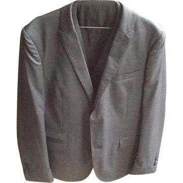The Kooples Anthracite Wool Suits