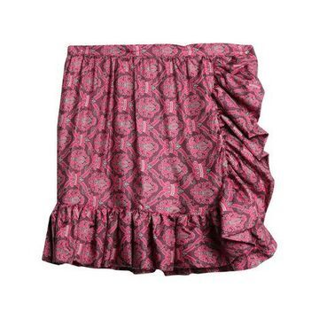 DOUUOD Knee length skirt