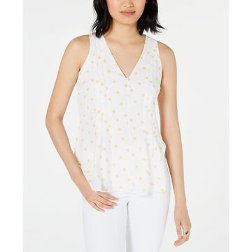 Printed Sleeveless V-Neck Top, Created for Macy's