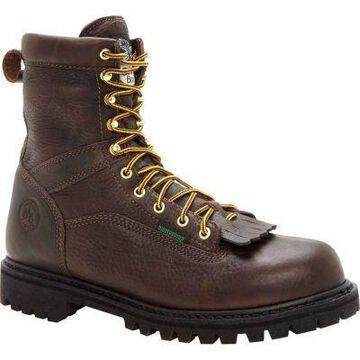 Georgia Boot Men's 8 in. Low Heel Logger Boots, G8041