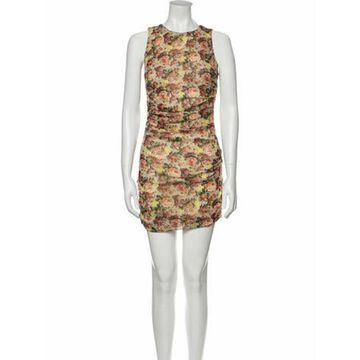 Msgm Floral Print Mini Dress w/ Tags Msgm Floral Print Mini Dress w/ Tags