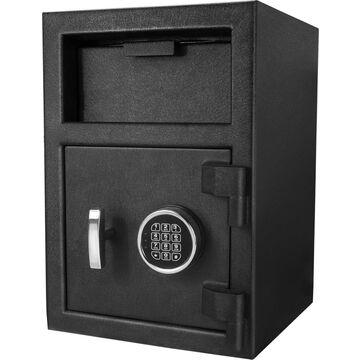 Barska 2.27-cu ft Keyed Commercial/Residential Floor Safe in Black | AX12588
